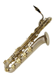 Powerbeat Nickel Baritone Saxophone